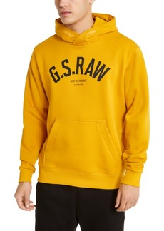 G Star Raw Denim G-Star Raw Men's Ashor Hooded Logo Sweater