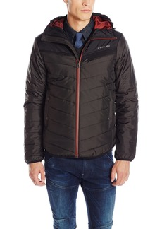 G Star Raw Denim G-Star Raw Men's Attacc Hooded Quilted Overshirt Jacket