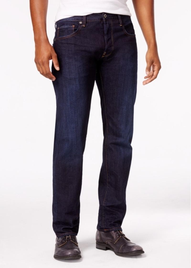 c923097d3bb G Star Raw Denim G-Star Raw Men's Attacc Slim-Straight Fit Dark Blue ...