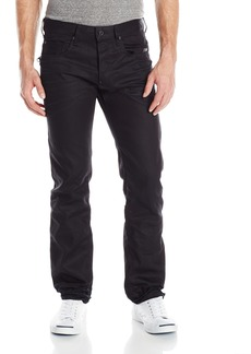 G Star Raw Denim G-Star Raw Men's Attacc Slim Straight Leg Jean In Black Format Denim 3D Aged  30x32