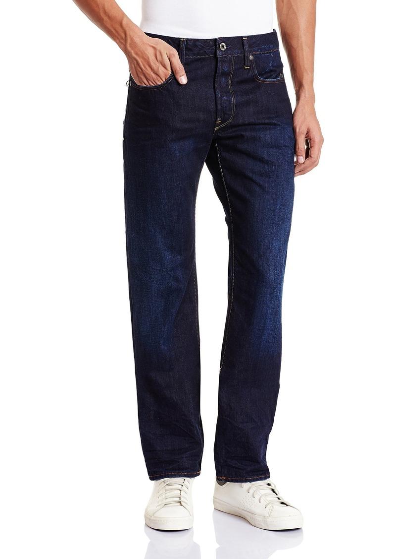 g star raw denim g star raw men 39 s attacc straight fit jean 30x32 jeans shop it to me. Black Bedroom Furniture Sets. Home Design Ideas