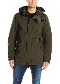 G Star Raw Denim G-Star Raw Men's Batt Hooded Short Parka Ip