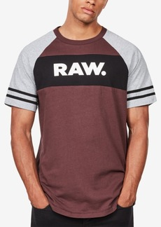 G Star Raw Denim G-Star Raw Men's Beatal Colorblocked Logo T-Shirt