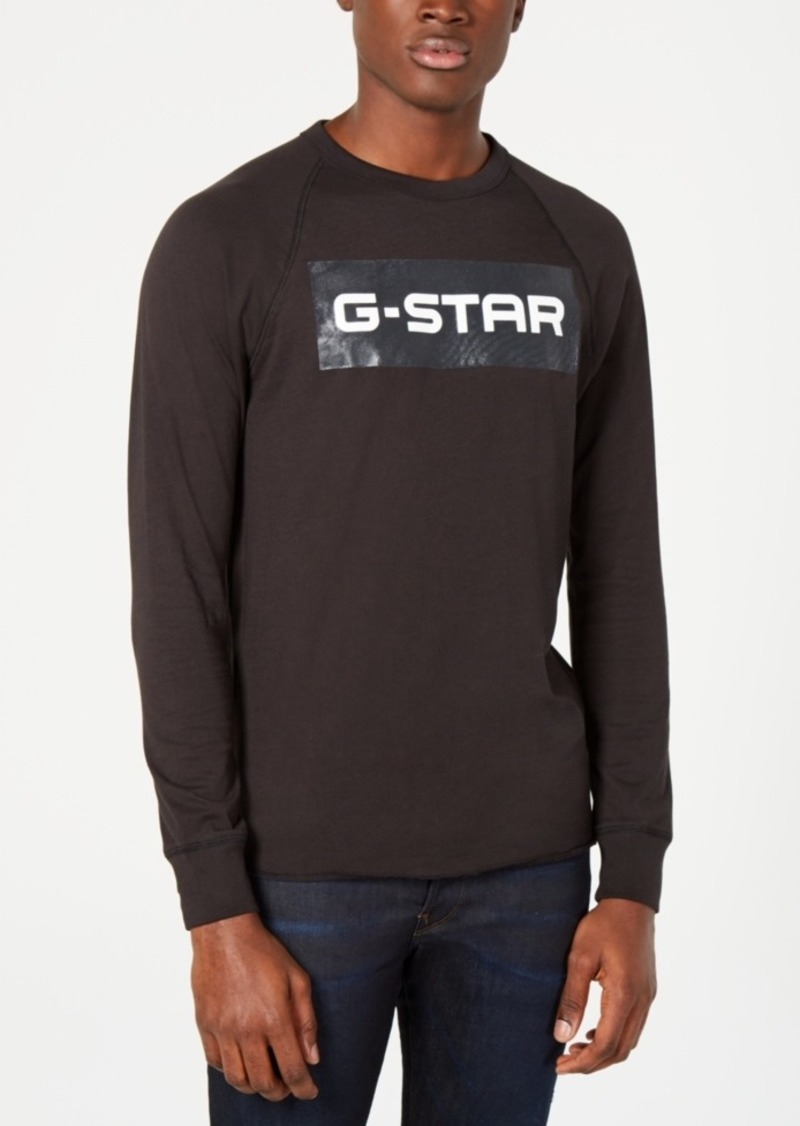 679b6ee3c17 G Star Raw Denim G-Star Raw Mens Block Logo Graphic T-Shirt