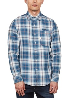 G Star Raw Denim G-Star Raw Men's Bristum Slim-Fit Plaid Shirt, Created For Macy's