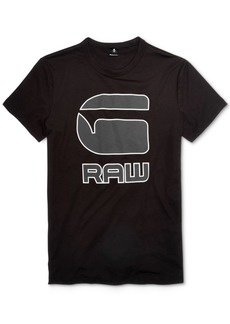 G Star Raw Denim G-Star Raw Men's Cadulor Graphic-Print Cotton T-Shirt