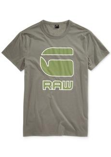 G Star Raw Denim G-Star Raw Men's Cadulor Graphic-Print Cotton T-Shirt