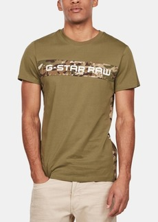 G Star Raw Denim G-Star Raw Men's Camo-Logo T-Shirt, Created for Macy's