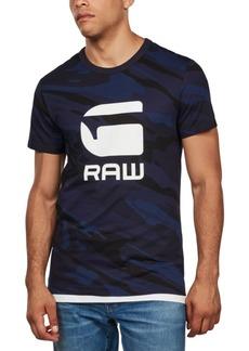 G Star Raw Denim G-Star Raw Men's Camo Logo T-Shirt, Created For Macy's