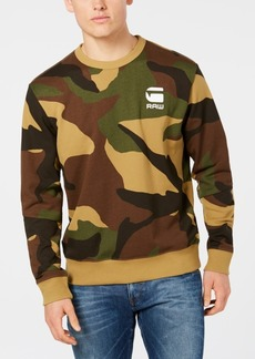 G Star Raw Denim G-Star Raw Men's Camo-Print Sweatshirt