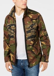 G Star Raw Denim G-Star Raw Men's Camo Print Utility Jacket