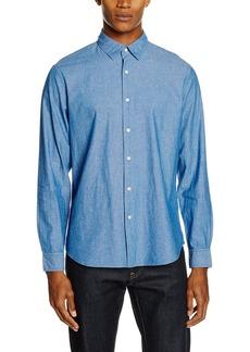 G Star Raw Denim G-Star Raw Men's Chambray Core Long Sleeve Button Down Shirt