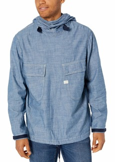 G Star Raw Denim G-Star Raw Men's Chambray Pw Hooded Jacket