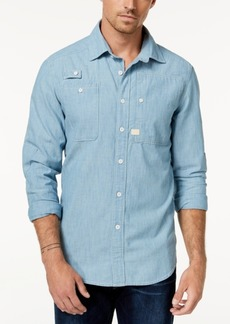G Star Raw Denim G-Star Raw Men's Chambray Shirt, Created for Macy's