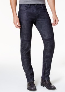 G Star Raw Denim G-Star Raw Men's 5620 Chambray Slim Fit Moto Deconstructed Jeans