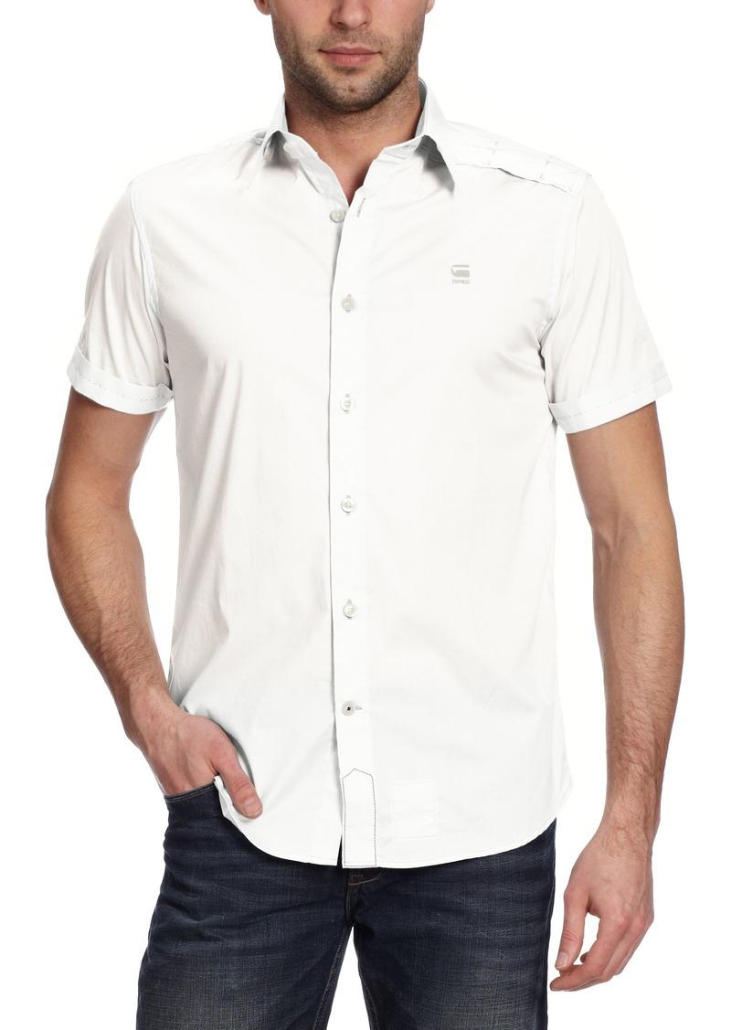 G Star Raw Denim G-Star Raw Men's Cl New Base Core Short Sleeve Shirt