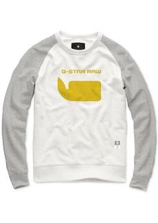 G Star Raw Denim G-Star Raw Men's Colorblocked Logo Sweatshirt