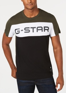 G Star Raw Denim G-Star Raw Men's Colorblocked Logo T-Shirt, Created for Macy's