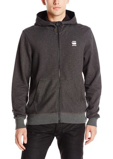 G Star Raw Denim G-Star Raw Men's Core Taped Full Zip Sherland Sweatshirt Hoodie