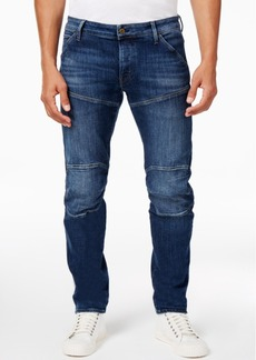 G Star Raw Denim G-Star Men's 5620 Deconstructed 3D Slim-Fit Stretch Jeans, Created for Macy's