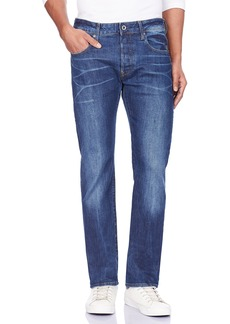 G Star Raw Denim G-Star Raw Men's Defend Straight Fit Jean in Accel Stretch Denim  32x34