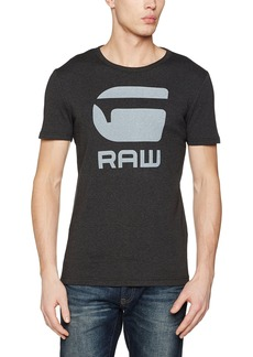 G Star Raw Denim G-Star Raw Men's Drillon Round Neck Tee Short SleeveBlack HTR
