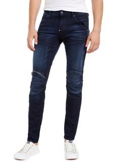 G Star Raw Denim G-Star Raw Men's Elwood Zip-Knee Skinny Jeans, Created For Macy's