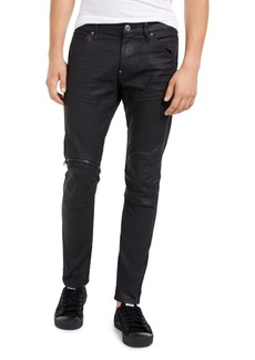 G Star Raw Denim G-Star Raw Men's Elwood Zip-Knee Skinny Jeans, Created For Macy's