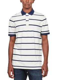 G Star Raw Denim G-Star Raw Men's Fascia Striped Polo Shirt