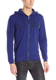 G Star Raw Denim G-Star Raw Men's Fenster Hooded Sweatshirt In Range Sweat Ball Pen