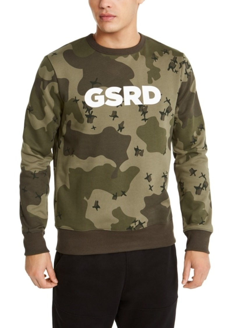 G Star Raw Denim G-Star Raw Men's Ferru Camo Logo Sweatshirt