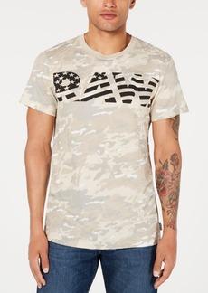 G Star Raw Denim G-Star Raw Men's Flag Logo Camo T-Shirt, Created for Macy's