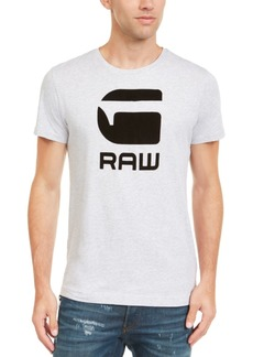G Star Raw Denim G-Star Raw Men's Flocked Hamburger T-Shirt