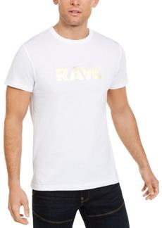 G Star Raw Denim G-Star Raw Men's Foil Logo T-Shirt
