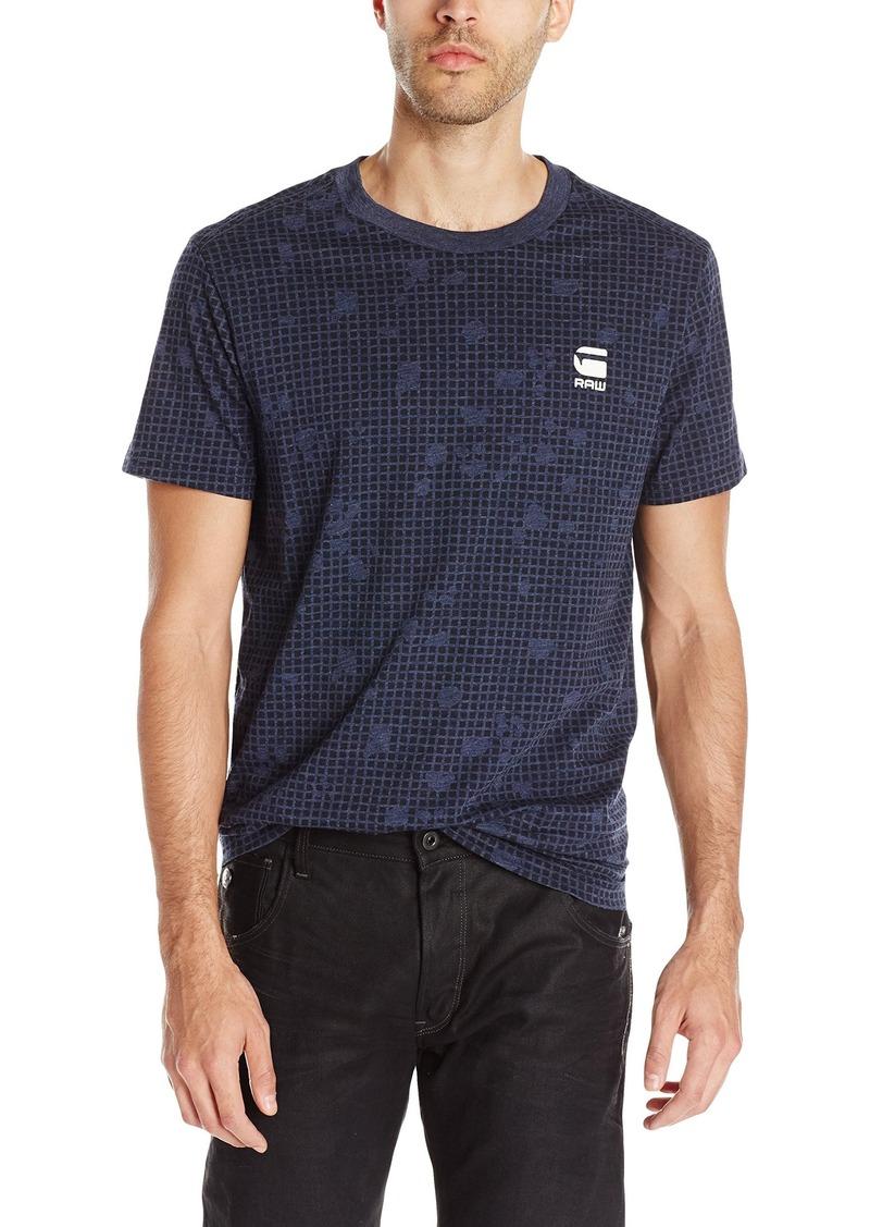 G Star Raw Denim G-Star Raw Men's Gavod Short Sleeve T-Shirt  Medium