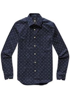 G Star Raw Denim G-Star Raw Men's Geometric Shirt, Created for Macy's