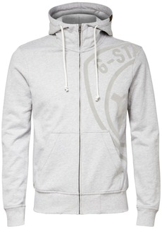 G Star Raw Denim G-Star Raw Men's Graphic 10 Full-Zip Hoodie