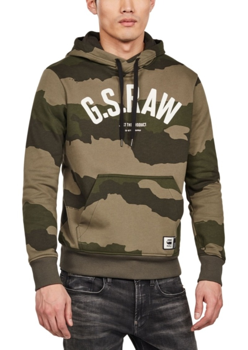 G Star Raw Denim G-Star Raw Men's Graphic 13 Core Hoodie