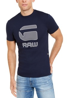 G Star Raw Denim G-Star Raw Men's Graphic 15 Logo T-Shirt