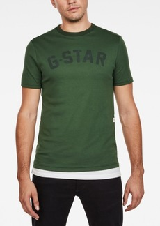 G Star Raw Denim G-Star Raw Mens Graphic Logo T-Shirt
