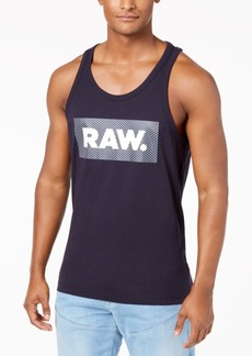 G Star Raw Denim G-Star Raw Men's Graphic-Print Cotton Tank Top, Created for Macy's