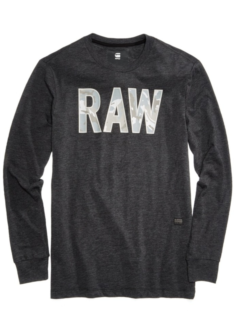 f884a00759 G Star Raw Denim G-Star Raw Men s Graphic-Print T-Shirt