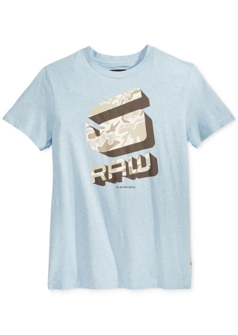 g star raw denim g star raw men 39 s graphic print t shirt. Black Bedroom Furniture Sets. Home Design Ideas