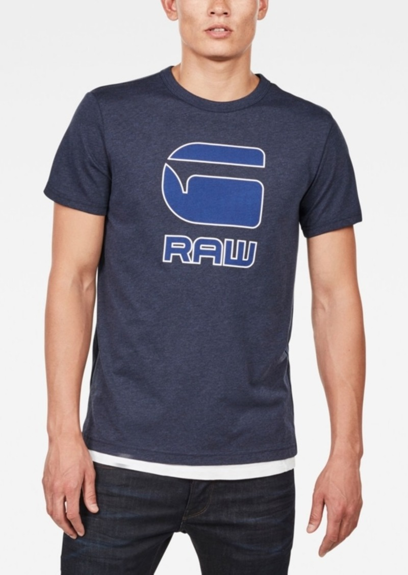 2dde3d36cce G Star Raw Denim G-Star Raw Men's Graphic Print T-Shirt Now $26.25