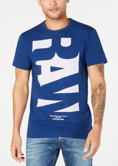G Star Raw Denim G-Star Raw Mens Graphic T-Shirt, Created for Macy's