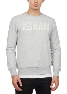 G Star Raw Denim G-Star Raw Men's Gsraw Logo Graphic Sweater