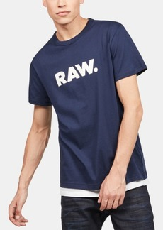 G Star Raw Denim G-Star Raw Men's Holorn Raw Logo T-Shirt