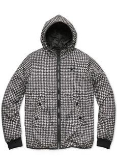G Star Raw Denim G-Star Raw Men's Houndstooth Hooded Jacket