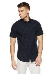 G Star Raw Denim G-Star Raw Men's Landoh Clean Short Sleeve Button Down Shirt