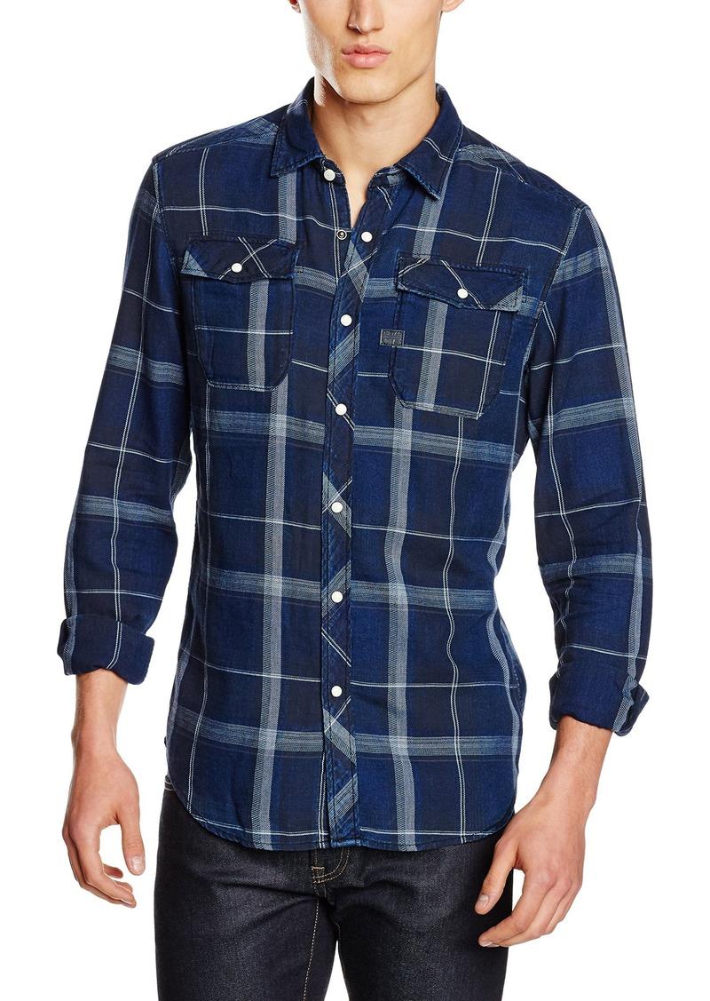 G Star Raw Denim G-Star Raw Men\u0027s Landoh Long Sleeve Button Down Shirt